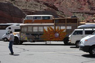 RV at Arches park